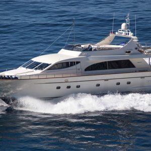 Charter Yacht Leonida II cruising